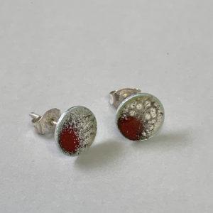 oorbellen-zilver-rood-wit-emaille