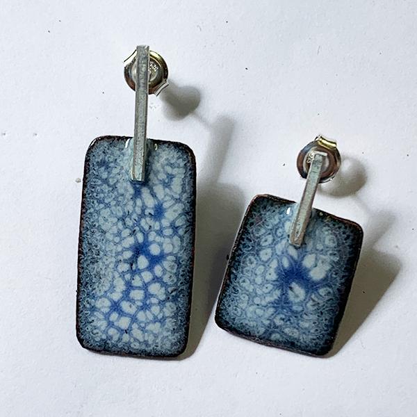 oorbellen-emaille-koper-zilver-blauw-wit