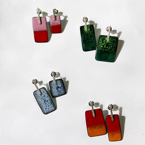 oorbellen-emaille-koper-zilver-stekers