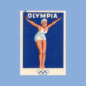 ansichtkaart Olympia
